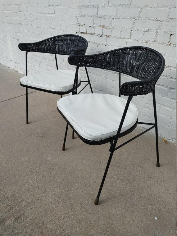 Mid Century Modern Saltorini Side Chairs