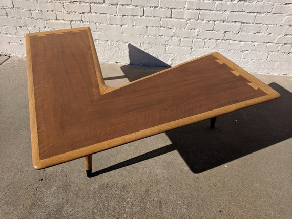 Remarkable Mid Century Modern Lane Acclaim Boomerang Coffee Table Evergreenethics Interior Chair Design Evergreenethicsorg