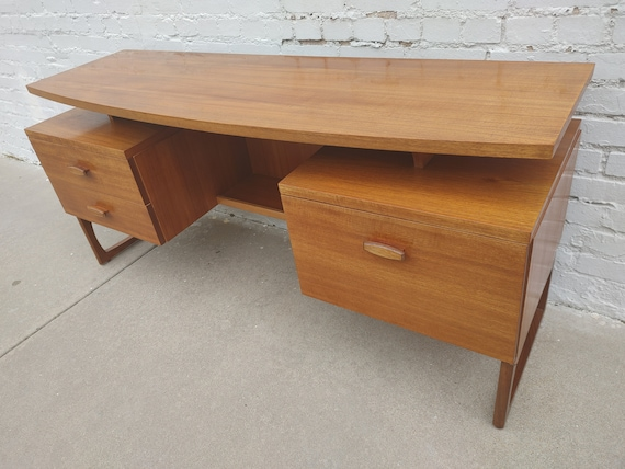 Mid Century Modern G Plan Teak Desk