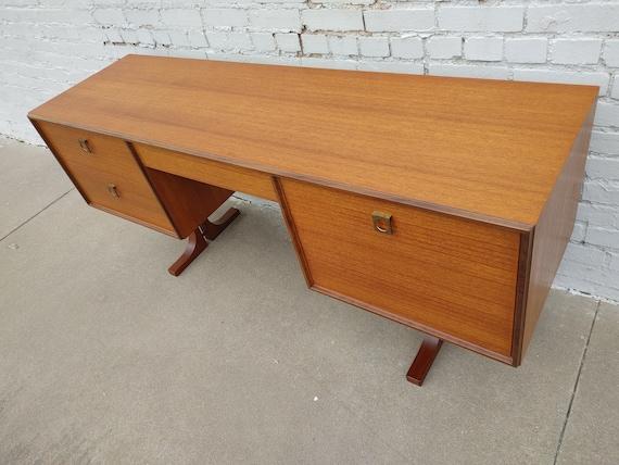 Mid Century Modern Danish Inspired Teak Desk
