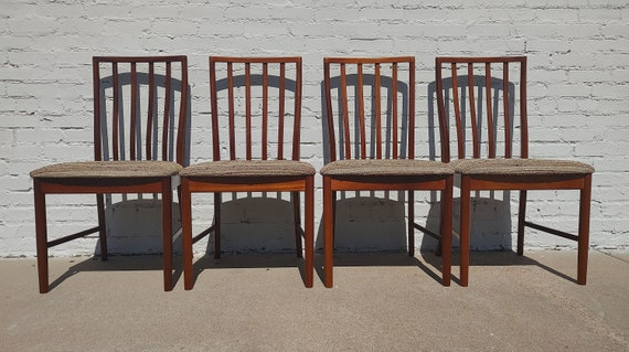 Mid Century Modern Danish Modern Teak Dining Chairs