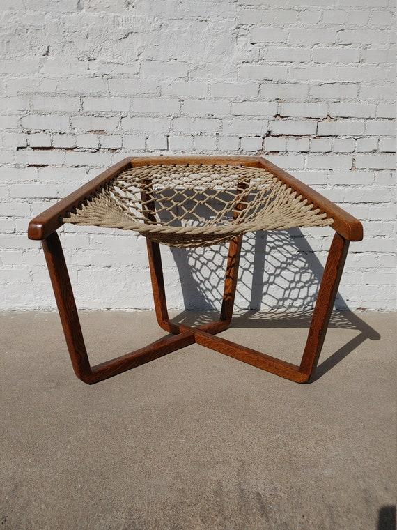 Mid Century Modern Danish Inspired Sling Chair