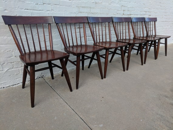 Mid Century Modern Willett Dining Chairs (6)