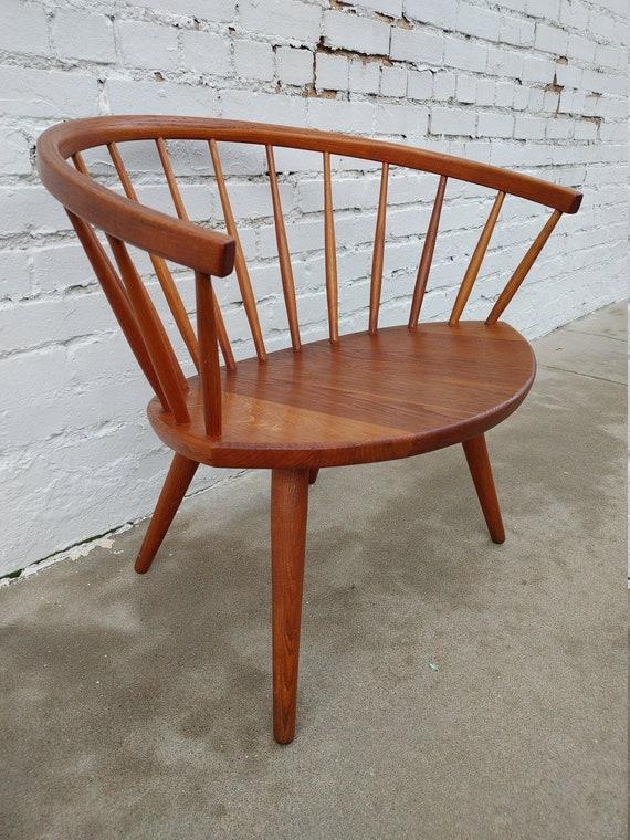Mid Century Modern Danish Arka Chair Illums Bolighus