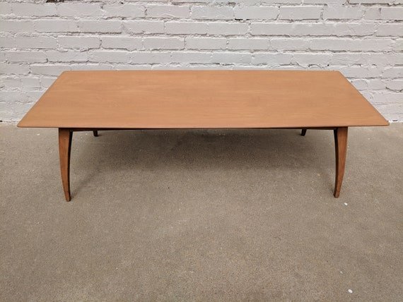 Mid Century Modern Heywood Wakefield Solid Birch Coffee Table
