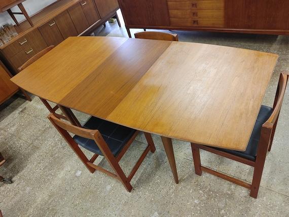 Mid Century Modern McIntosh Teak Dining Table