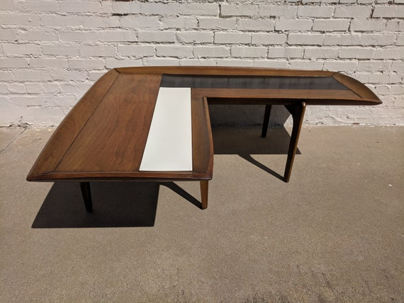 Mid Century Modern Saltman Boomerang Coffee Table