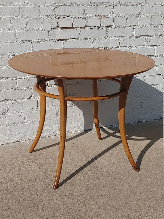 Mid Century Modern Widdicomb Sabre Leg Side Table