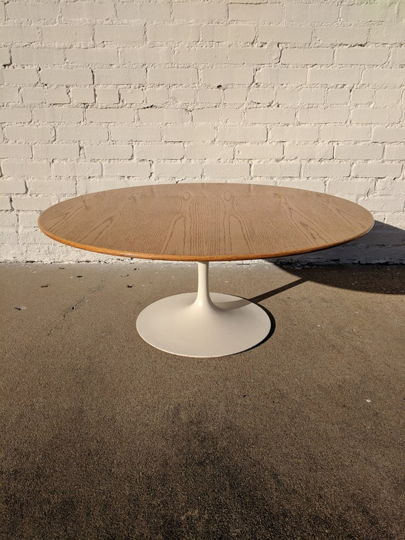 Mid Century Modern Knoll Tulip Base Coffee Table