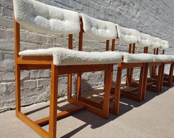 Mid Century Modern Danish Artfurn Teak Dining Chairs