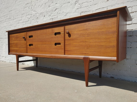 Mid Century Modern Teak Sideboard by Younger