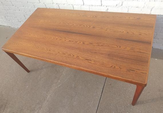 Mid Century Danish Modern Teak Coffee Table by Velje Stole