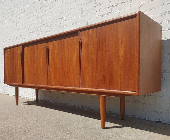 Mid Century Danish Modern Teak Sideboard