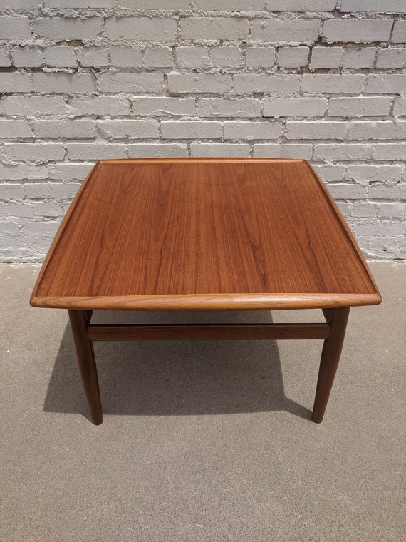 Mid Century Modern Grete Jalk Teak Coffee Table
