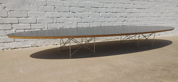 Mid Century Modern Herman Miller Elliptical Coffee Table