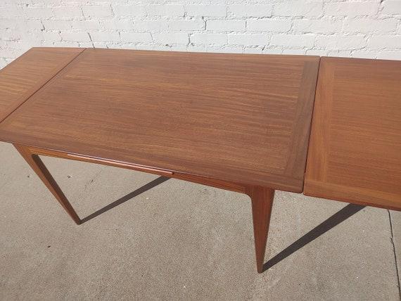 Mid Century Danish Modern Teak Extension Table