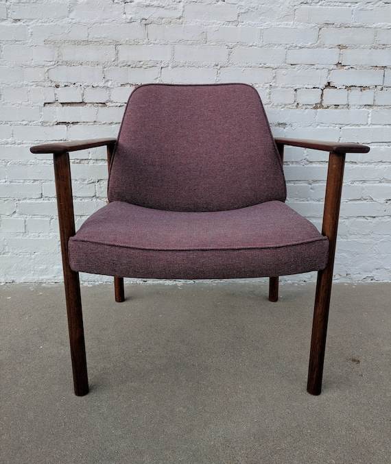 Mid Century Modern Dokka Mobler Norwegian Side Chair