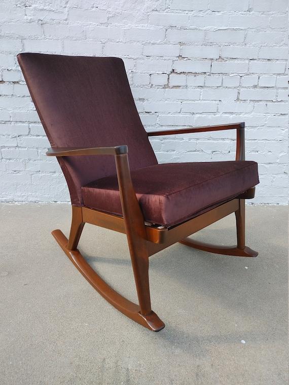 Mid Century Modern Parker Knoll Rocking Chair