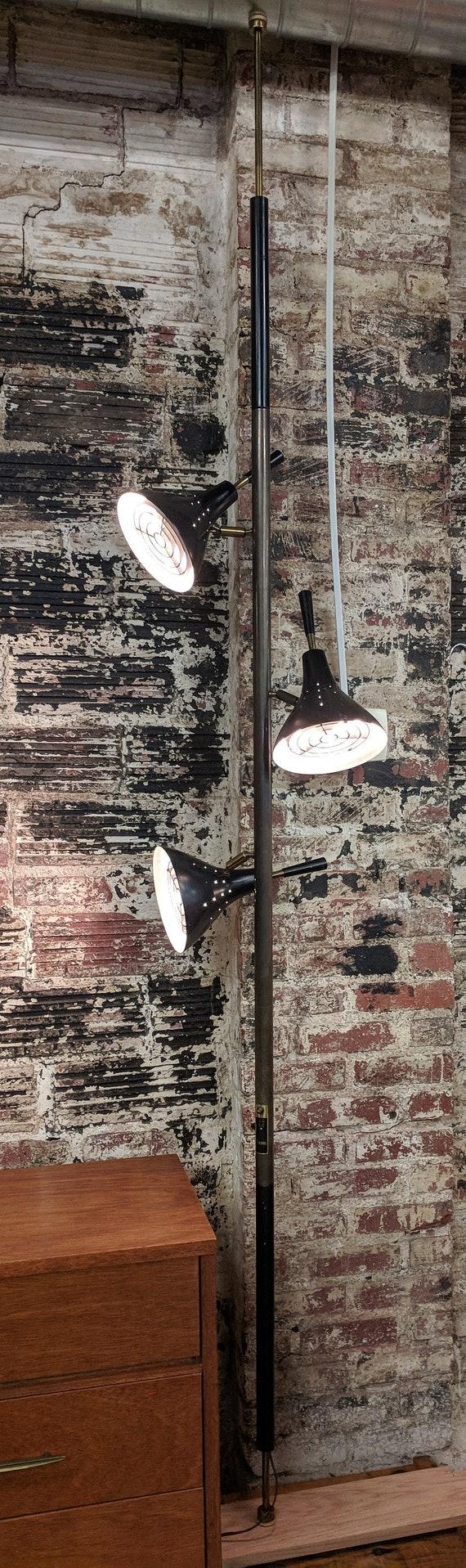Mid Century Modern Stiffel Extension Pole Lamp