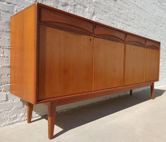 Mid Century Modern Teak Sideboard by Linden Furniture
