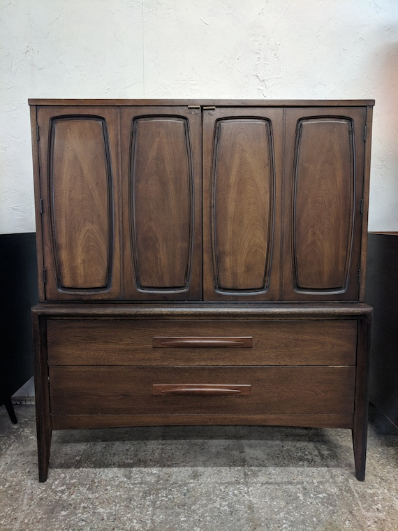 Mid Century Modern Broyhill Emphasis Armoire