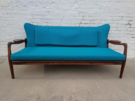 Fantastic Mid Century Modern Adrian Pearsall Sculptura Sofa Loveseat Onthecornerstone Fun Painted Chair Ideas Images Onthecornerstoneorg