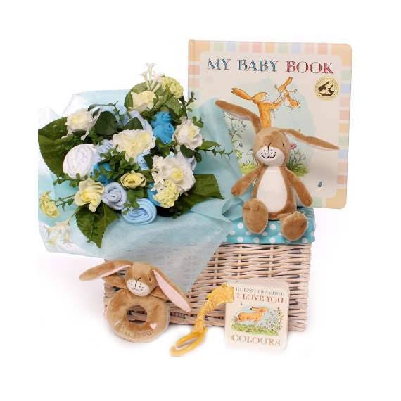 Gift Basket Baby Boy Guess How Much I Love You Baby Gift Baby Etsy