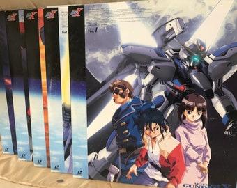 5 Laser Discs GUNDAM X - Volume from 1 to 5
