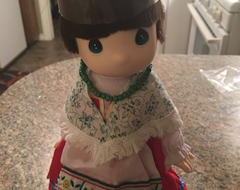 Children of the World Precious Moment doll Italy