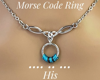 Submissive Day Collar, Celtic Rope Knot, Locking Option - 24/7 Wear