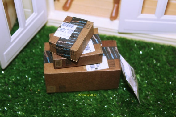 "1:6 scale Handmade miniature for 11/""-12/"" size doll Pillsbury flour box"