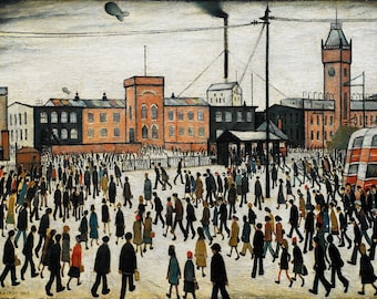 L S Lowry Going to Work