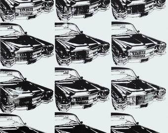 Andy Warhol Twelve Cars, 1962