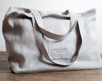 Eco Linen Tote Bags