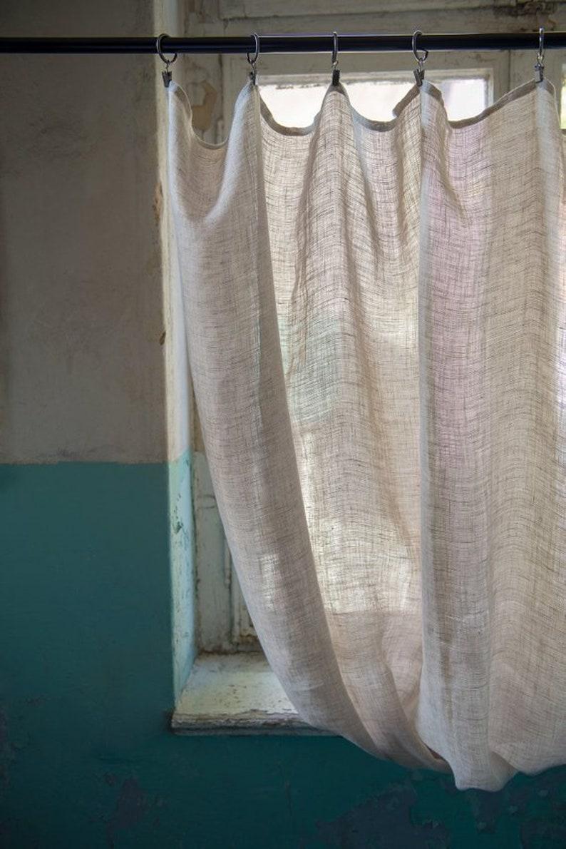 Leinen Küchenvorhang Leinen Küchen Café Vorhänge Etsy
