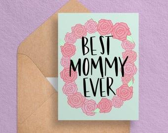 Printable Mothers Day Card Mom Birthday