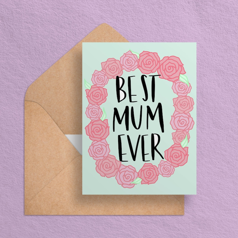 Printable Mom Birthday Card