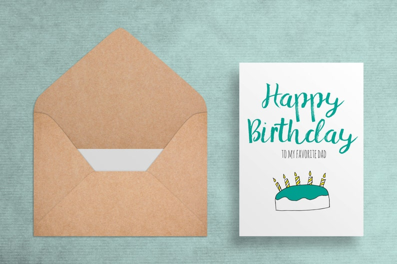 photograph about Printable Birthday Card for Dad identify Printable Birthday Card for Father - Content Birthday towards My Beloved Father - Birthday Card - Amusing//Witty - Electronic Down load - Printable