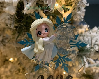 Character Inspired Snow Globe Ornament