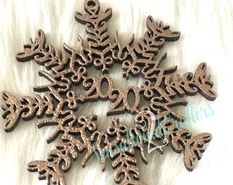 F*ck 2020 Snowflake Ornament