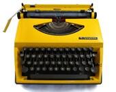 Retro Yellow Triumph Type...