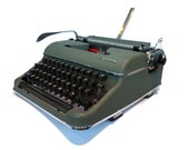 Vintage typewriter for a ...
