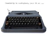 Rare typewriter, 1950s ty...