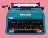 Working Typewriter, Olive...