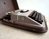 Slim Portable Typewriter,...