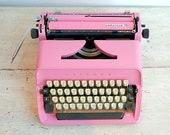 Bubblegum Pink Typewriter...