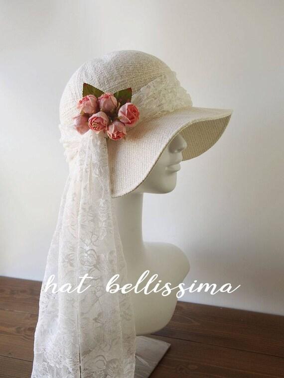 b797ad3fcc0 SALE white 1920 s Hat Vintage Style hat winter Hats