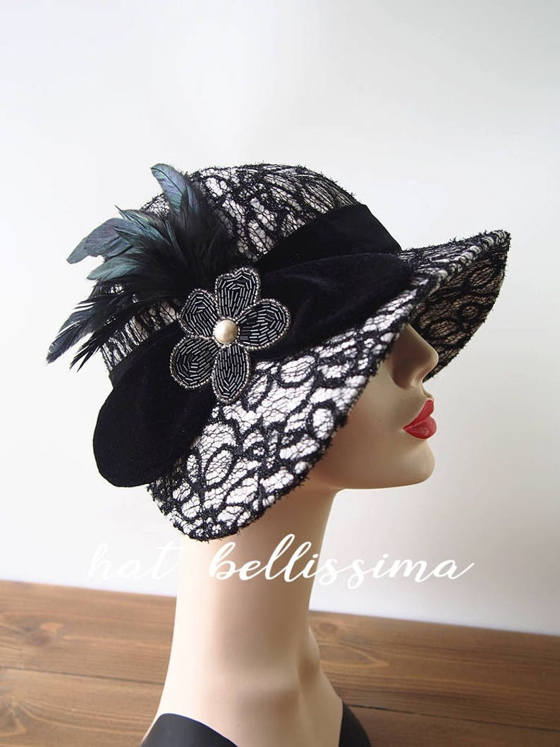 2229baded05 SALE 1920 s Hat Vintage Style hat winter Hats