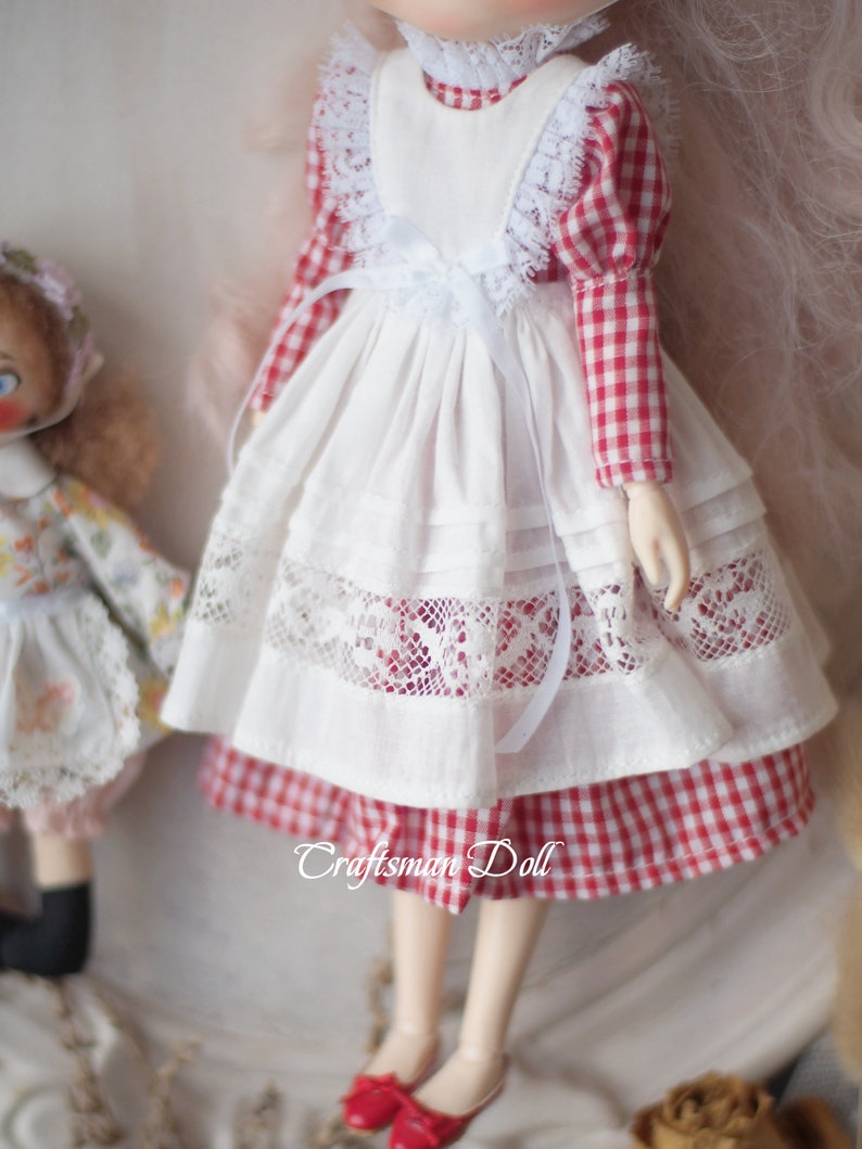 Blythe clothes Blythe dressLicca clothes Licca dressAzone clothes Azone dressCraftsmanDoll