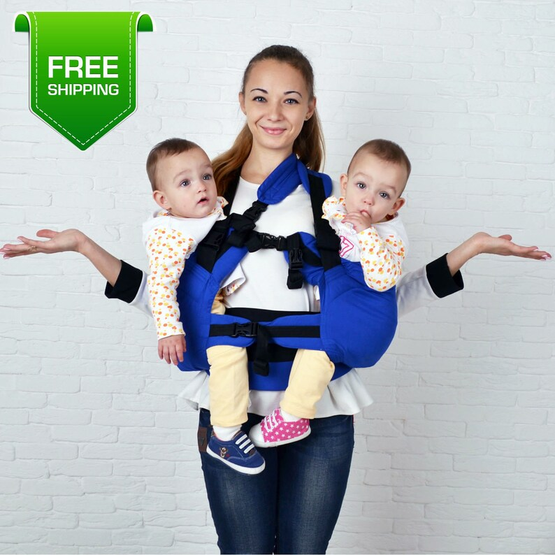 Jumeaux de porteur de bébé porte-bébé pour
